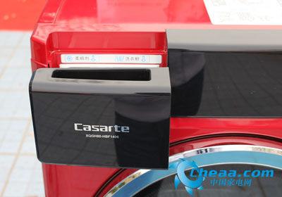 下面,小编为大家推荐一款三星xqb80-c89a洗衣机,该机采用咖啡色面板