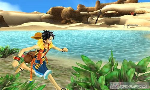 3ds 海贼王 无尽的航海sp 游戏截图