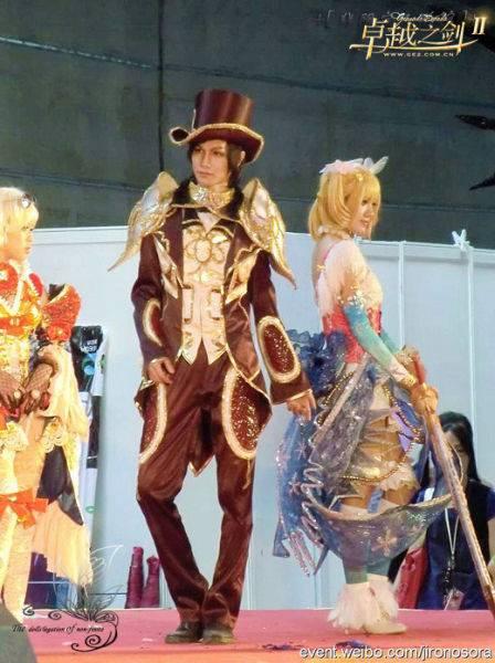 帅气的cosplay高清图片