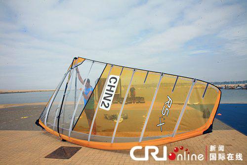 伦敦奥运会帆船帆板测试赛招来全球强队参赛