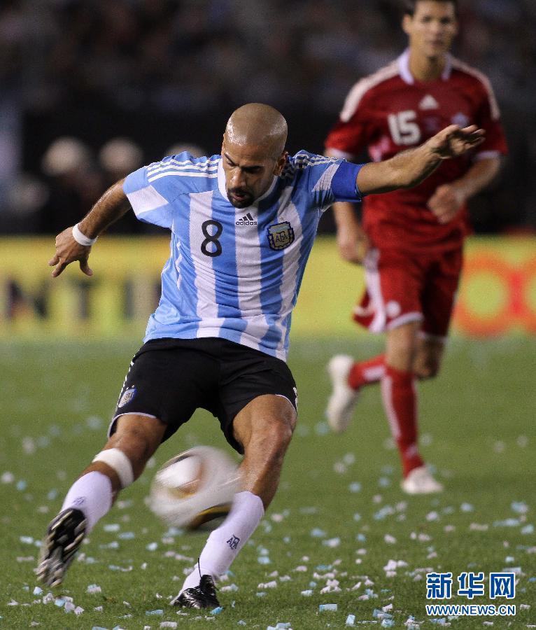 里克尔梅和贝隆重返阿根廷国家队[组图]