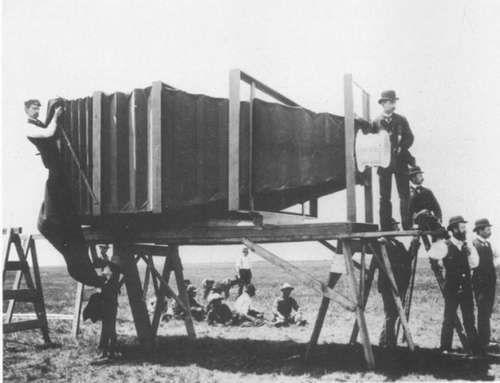 世界最大相机早在1900年出现图片