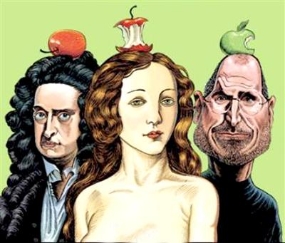 三个苹果改变世界_三个苹果改变的世界