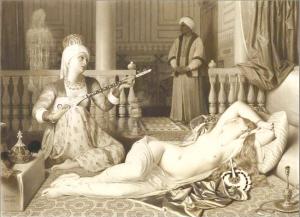 安格尔素描作品 在纽约展出高清图片