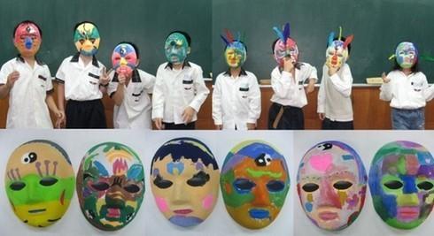 亲子手绘面具 DIY-十一缤纷长隆全家欢,假面舞会等你来参加