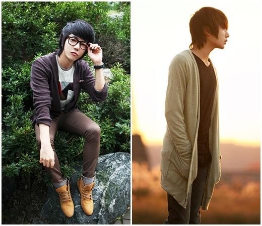 秋季时尚男装 韩国小正太演绎单品开衫夹克衬衫百搭