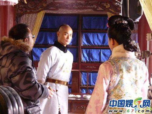 吴奇隆刘诗诗床戏腼腆 步步惊心 全版秘照图片