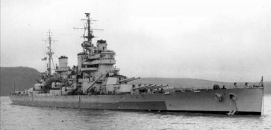 独家盘点 二战十大战列舰排名