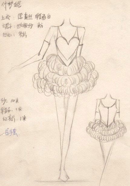 巡演的服装设计手稿首次曝光,快女们造型百变,其中以中性帅气风格