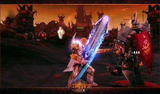 《地下城守护者ol》巨剑领主的群杀法则