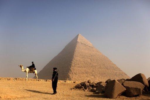 占卜师11月11日举行神秘仪式 埃及吉萨金字塔被关闭