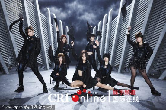 韩国女子组合T-ara新专辑MV 未来女战士造型