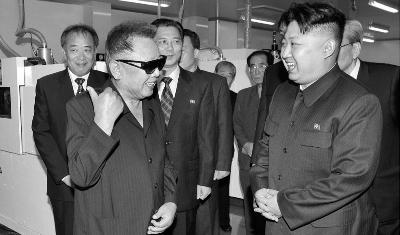 朝鲜最高领导人金正日逝世图片