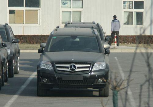 国产奔驰glk中配车型 高清图片