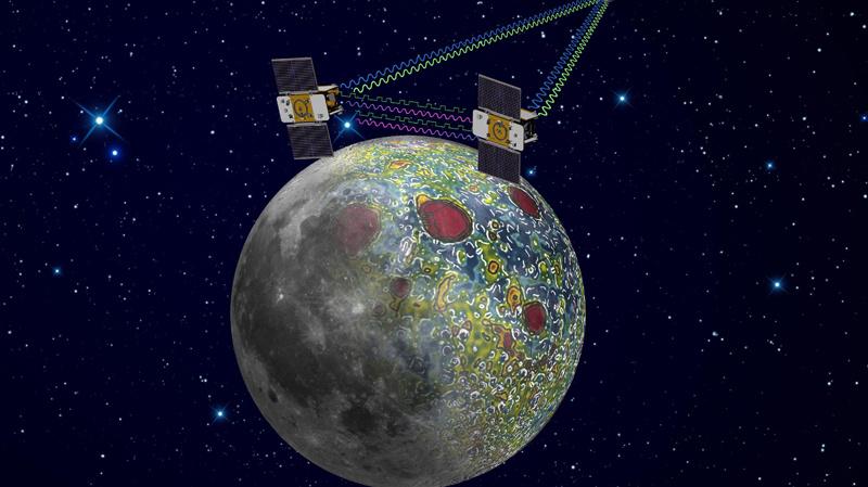 美国 双生 探测器抵达环月轨道 探测月球奥秘