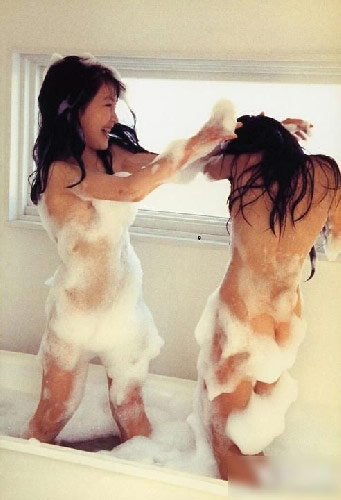 image Japanese av model has hairy crack fingered licked and naile