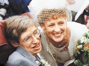 霍金妻子年轻_年青时的霍金和他的第一任妻子
