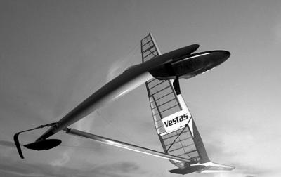 澳洲超级帆船高速航行时像纸飞机!图片