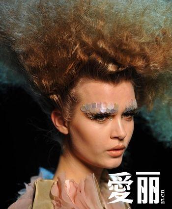 美人鱼创意妆发型分享展示图片