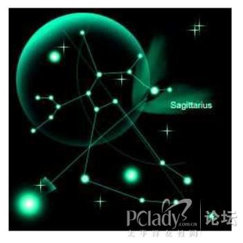 十二星座的漂亮星象图 你属于哪颗星