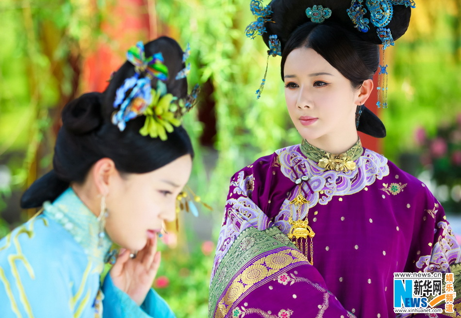 高清:《宫2》浪漫开播最美皇后孙菲菲华贵登