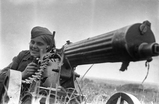 前苏联女战士(歌曲选) - 山野幽兰 - 山野幽兰的博客