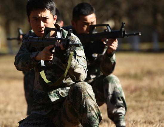 《麻辣女兵》型男兵团曝光 最帅兵哥成看点(图