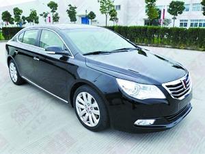 上海牌首款车型新荣威750高清图片