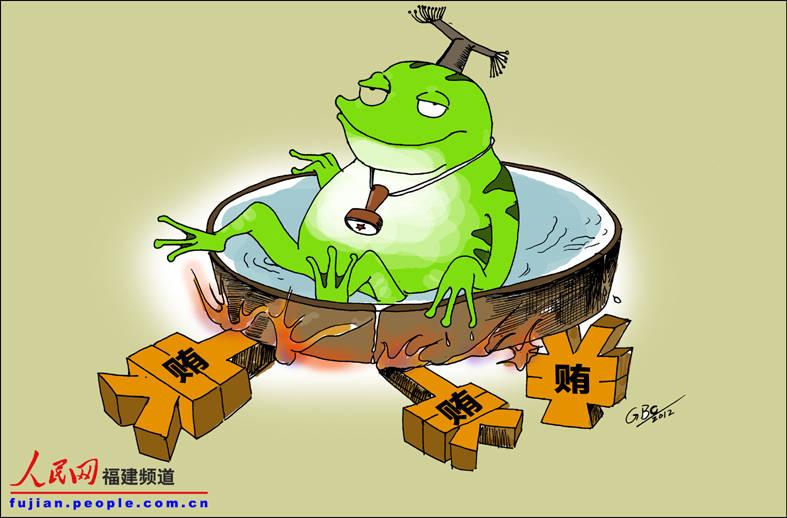 如温水煮青蛙