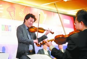 五月音乐节将开幕 吕思清李云迪担纲音乐节大使