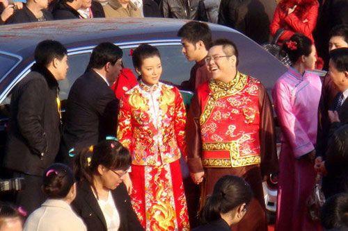 张柏芝 李兆会/车晓与山西首富李兆会婚礼