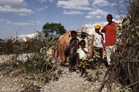 姚晨探访非洲难民营读懂世界[组图]图片