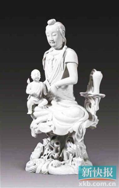 德化白瓷十年仅有两件过百万拍品