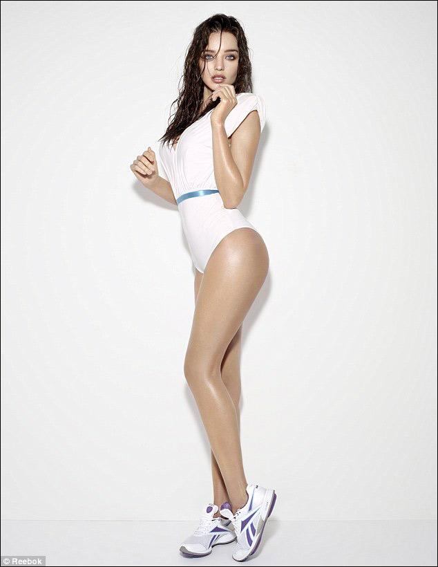 高清:米兰达99可儿代言运动品牌写真曝光图片