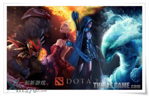dota2 宣传海报