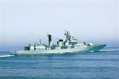 海舰队167号导弹驱逐舰北约称作051B型旅海级-南海舰队舰艇介绍