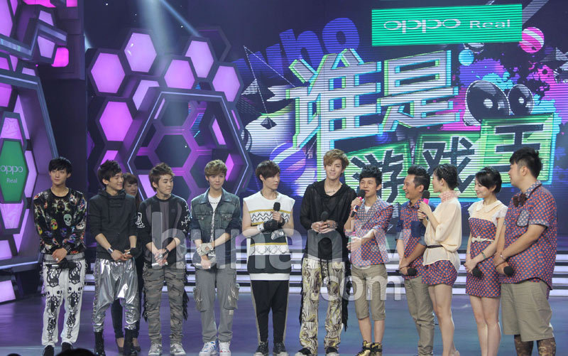 exo-m录制《快乐大本营》,无论唱歌舞蹈,还是在游戏中卖萌,台
