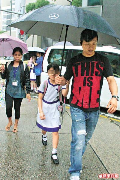 孩子学校发生企图绑架案 郭晋安陈慧珊亲自接送