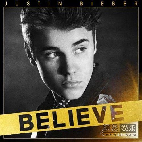 贾斯汀/比伯新专辑《Believe》标准版封面。
