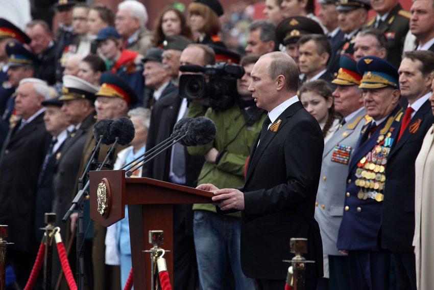 俄罗斯举行红场阅兵庆祝卫国战争胜利67周年