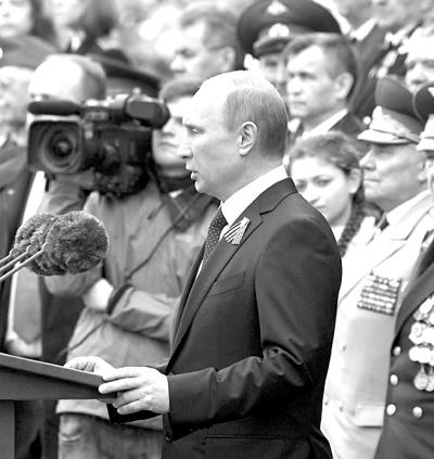 俄罗斯红场大阅兵