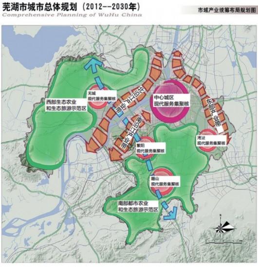 淮南轨道交通规划图