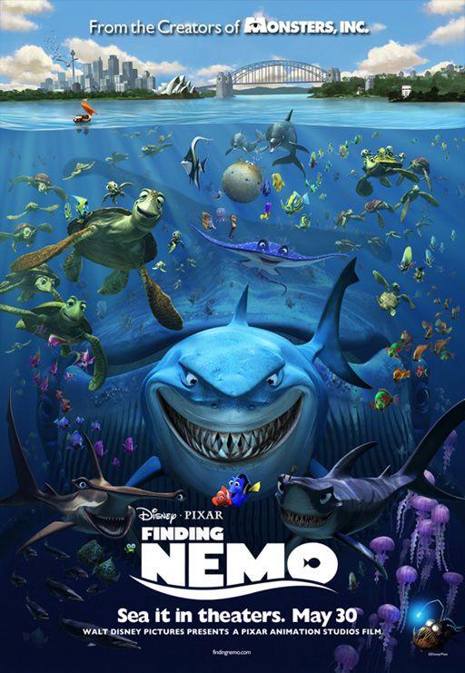海底总动员 发最新预告 3D特效比拼 泰坦尼克