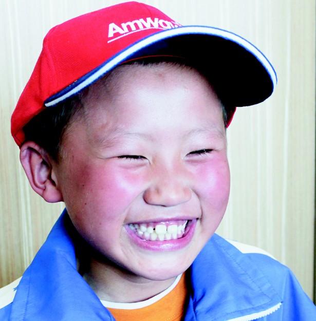 农村孩子的笑脸照片 小朋友的笑脸简笔画图片