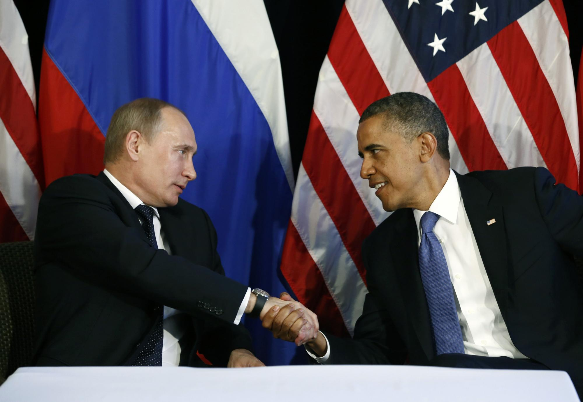 普京奥巴马认同叙利亚应实现政治过渡 英拦截
