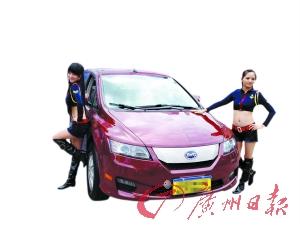 时尚节能――试驾比亚迪纯电动汽车E6高清图片