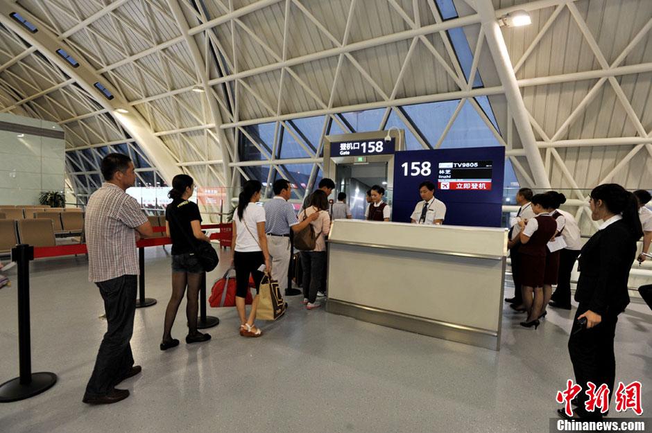 成都双流机场T2航站楼成功试运行