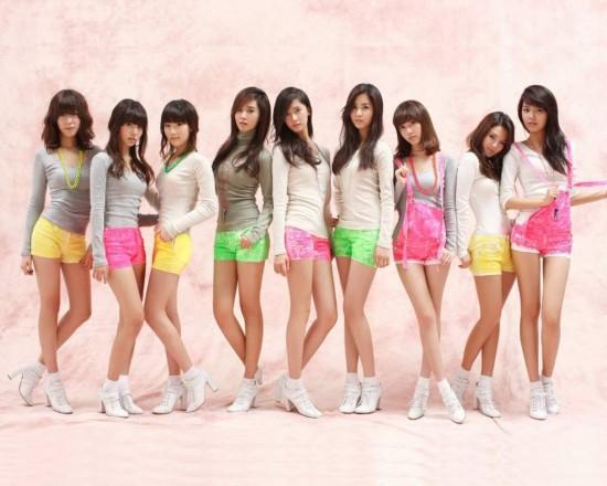少女时代是韩国sm娱乐有限公司于2007年推出的9