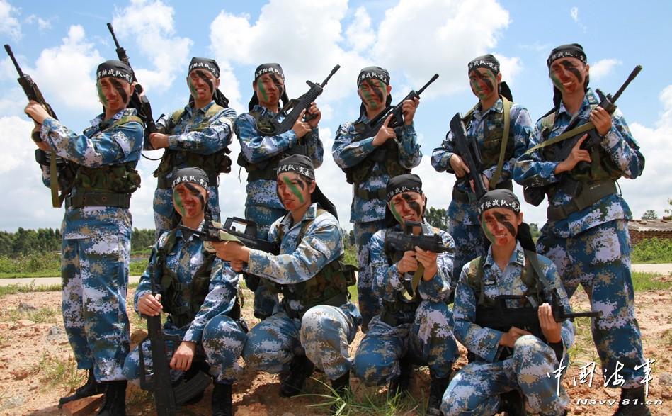 上哪个大学能当海军陆战队的兵啊 军事武器