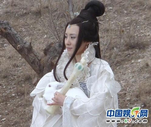 王惠版嫦娥,艺名阳光,聂远的前妻,出自2011年张纪中版电视剧《西图片